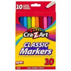Crayola оригинал - смываемые, восковые, обычные, мелки.