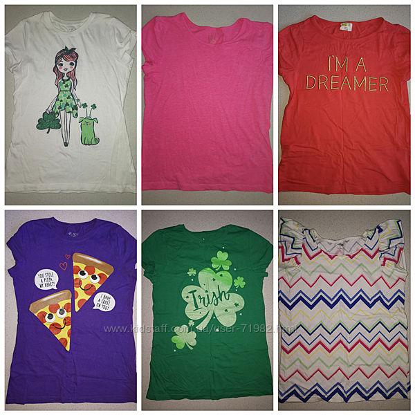 Наши футболки Crazy8, Gymboree и Childrensplace размер L и XL.