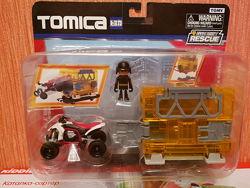 Tomica Hypercity Томика квадроцикл фигурка гараж машинка автомобиль