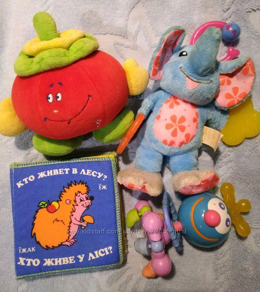 Лот развивающих игрушек малышам Chicco, Munchkin, Baby Team