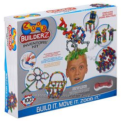 Новый конструктор ZOOB BuilderZ Inventor&acutes Kit на 100 деталей