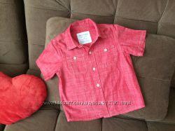 Стильная рубашка SONOMA в новом состоянии, 4т