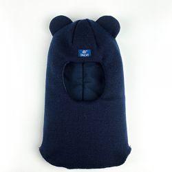 Зимний шлем синего цвета р. 50-52см