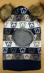 Распродажа. Зимние шлемы на термофлисе