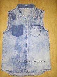 5c199b910b2 Крутейшая джинсовая рубашка Cubus