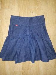 Суперская джинсовая юбка lee cooper р. xs