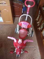 Трех колесный велосипед-качалка Geoby для девочки