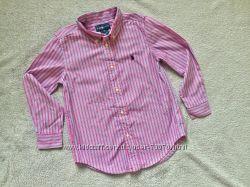 Polo Ralph lauren фирменная рубашка р. 6 или 122-128 см