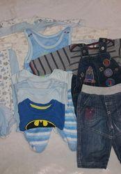 Пакет вещей для ребенка 4-8 месяцев