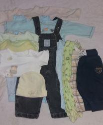 Пакет вещей для ребенка 5-10 месяцев