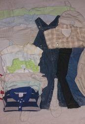 Пакет вещей для ребенка 6-12 месяцев рост 68-74