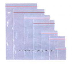 Пакеты с замком Zip-Lock для заморозки и упаковки товаров
