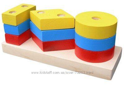 Качественные деревянные игрушки Komarovtoys