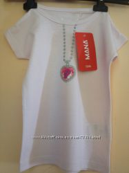 Фирменные футболки, для девочки 1, 5-2, 5 года. 86-92р. 100хлопок, Авсрийск