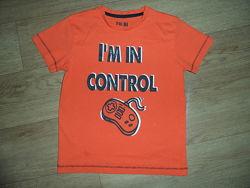 фирменные футболки мальчикам 2-9лет