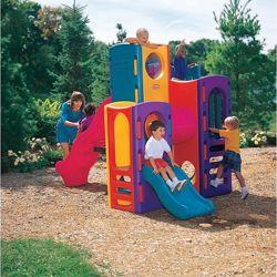 Детский игровой центр Небоскрёб с горками пластиковый