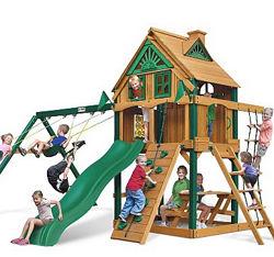 Площадка игровая с домиком Люкс-2