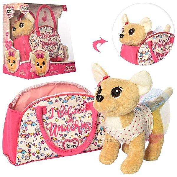 Собачка Кикки в сумочке