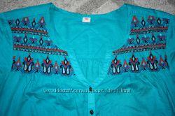 Блузка футболка вышиванка женская беременной 48 50 L Л 38 40 размер