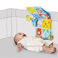 Taf Toys  Развивающий центр для кроватки - Веселые друзья звук, свет