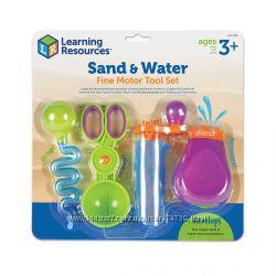 Игровой набор LEARNING RESOURCES серии Маленькие ручки - Песок и вода