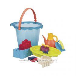 Battat Summery Набор для игры с песком и водой - Мега ведерце море