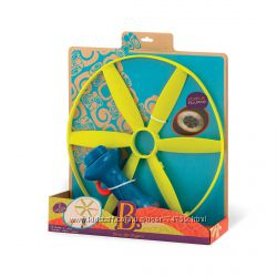 Battat Summery Игрушка - Сверкающий диск -пропеллер, пусковое устройство