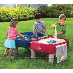 Little Tikes Outdoor Песочница стол 2 в 1 - Играем и рисуем