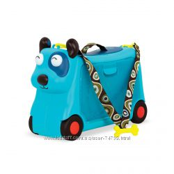BATTAT Детский чемодан каталка для путешествий - Песик турист