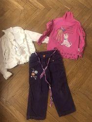 Одежда на весну-осень на девочку рост 104