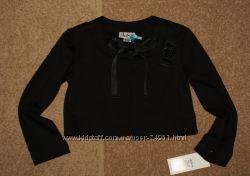 Пиджак - болеро школьное  Albero черное размеры от 122 до 146