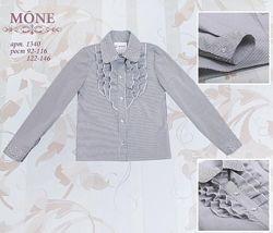 Блуза Моне Mone для школьницы школа блузка р.122 7-8 лет