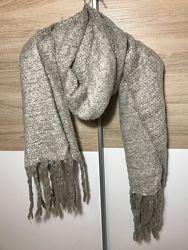 Объёмный тёплый шарф