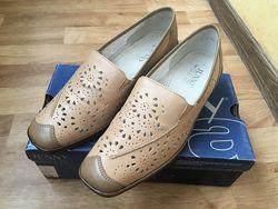 новые женские лоферы/туфли Ara, Германия, нат. кожа, EUR 39,5