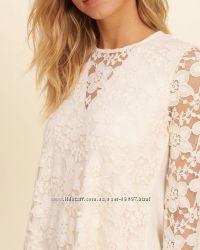 Ажурная блуза Hollister p. S