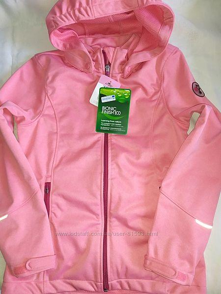 Новая софтшел куртка Crane - р.146-152см