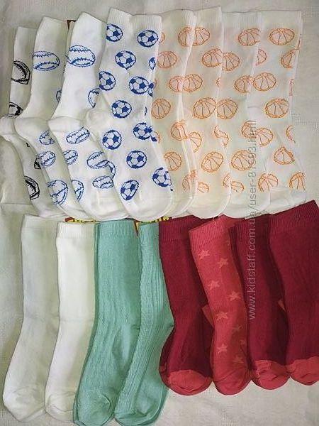 Новые носочки Lupilu, Pepperts, Tchibo - р.23-26, 27-30