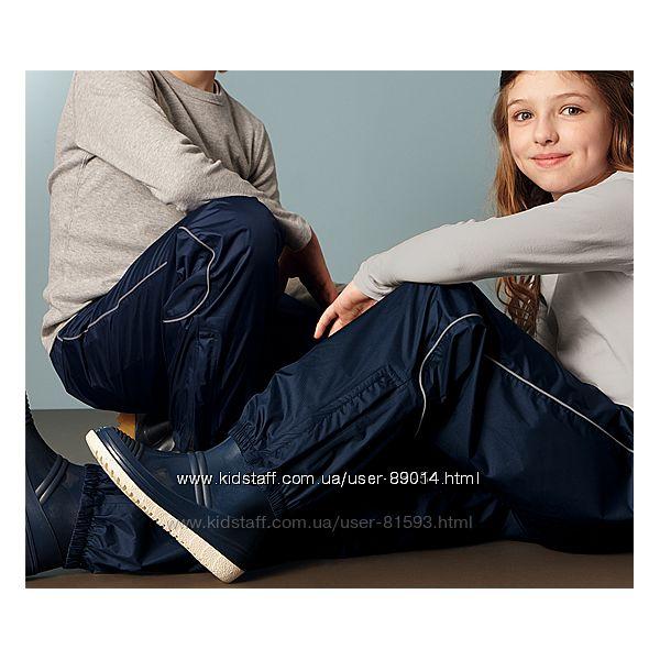 Новые дождевые брюки Tchibo - р.146-152см