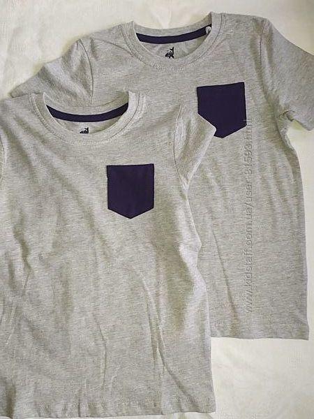 Новые футболки Lupilu - р.110-116см