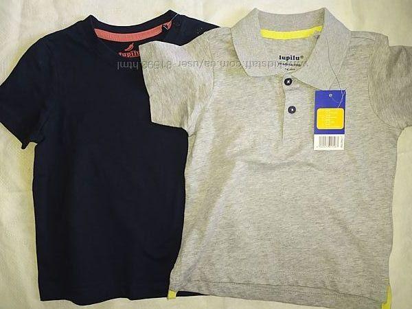 Новые футболки Lupilu - р.86-92см