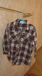Рубашка теплая Crazy 8 р. 4 года