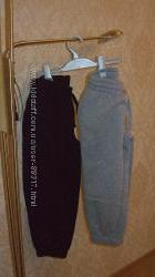 Спортивные штаны с начесом р. 116-122