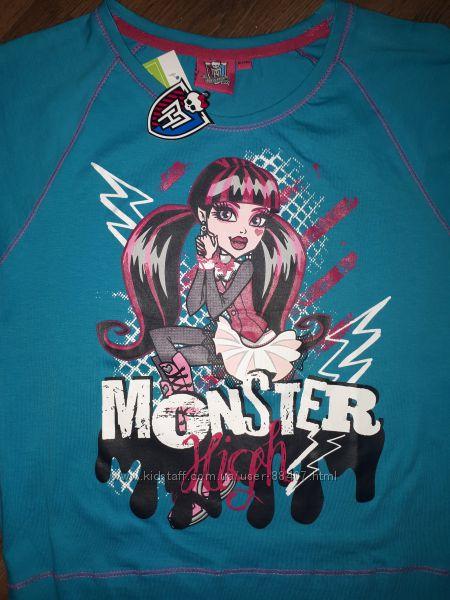 Яркие футболочки Monster high