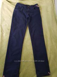Коттоновые легкие брюки для мальчика 146-150