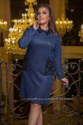Классное платье 56р