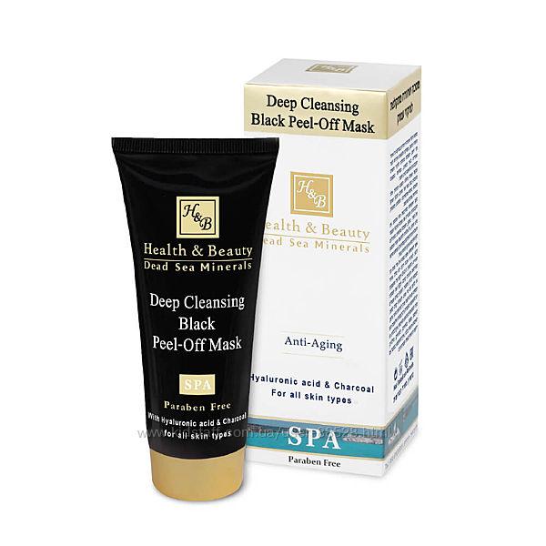 Черная маска-пленка для глубокой очистки кожи