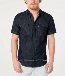 Джинсовые рубашки с коротким рукавом Levis из США