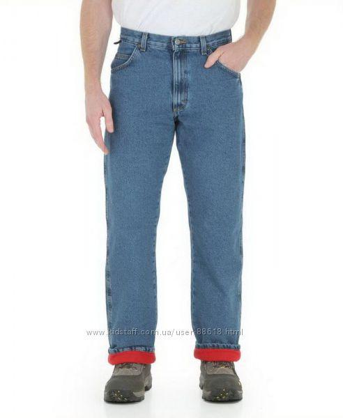 Зимние джинсы на флисовой подкладке Wrangler Rugged Wear Thermal Jeans США