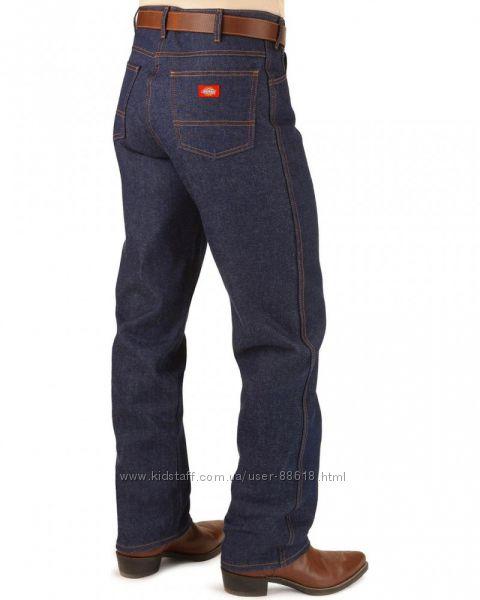 Американские джинсы Dickies из плотного жесткого денима