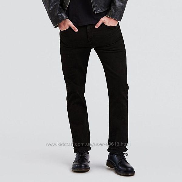 Джинсы levis 511 - Black Stretch